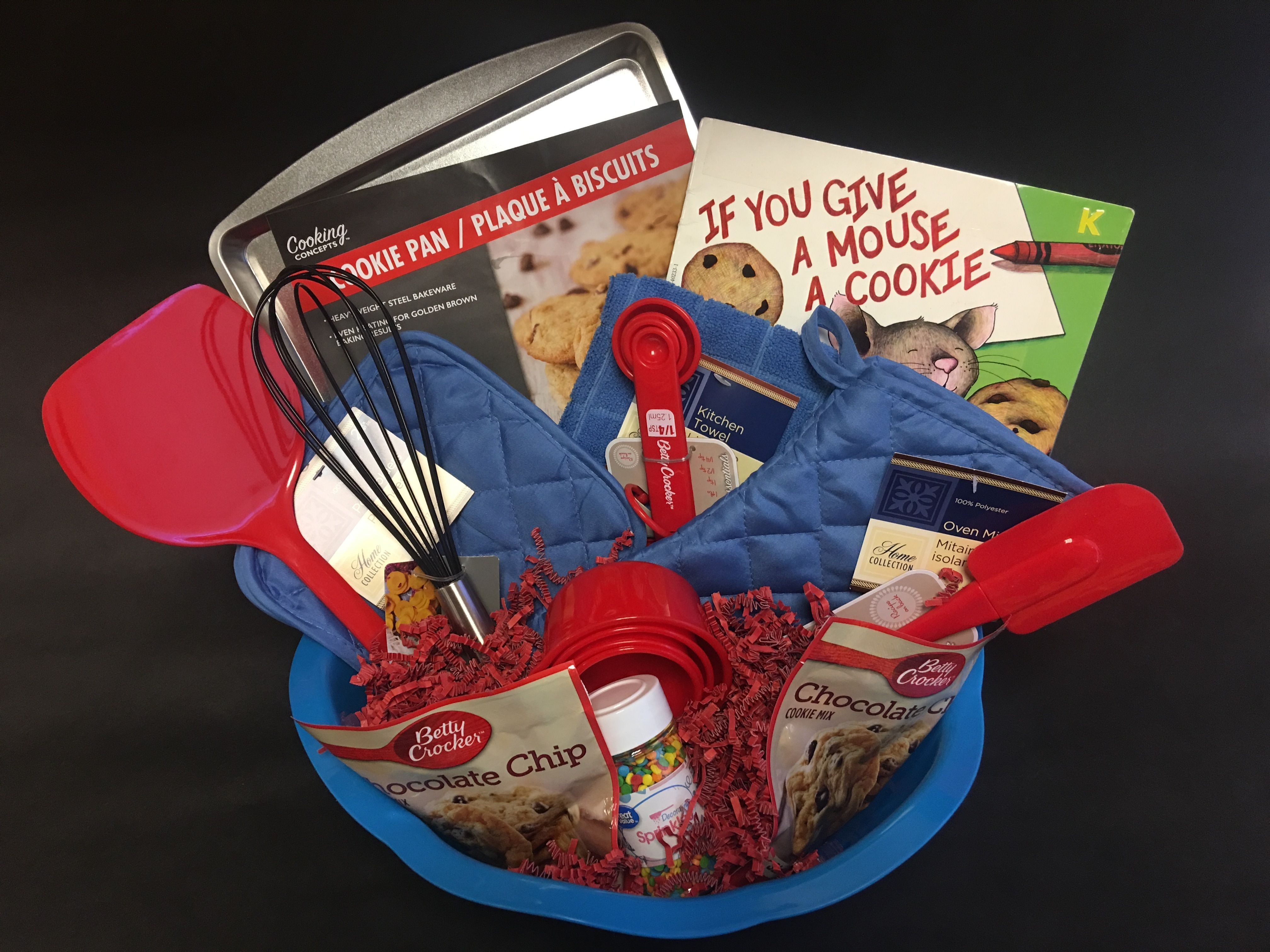 Cookie baking gift basket boyfriendgiftbasket baking