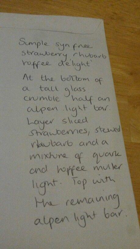 free if alpen bar used as healthy extra b choice. Strawberry rhubarb toffee de'light recipe