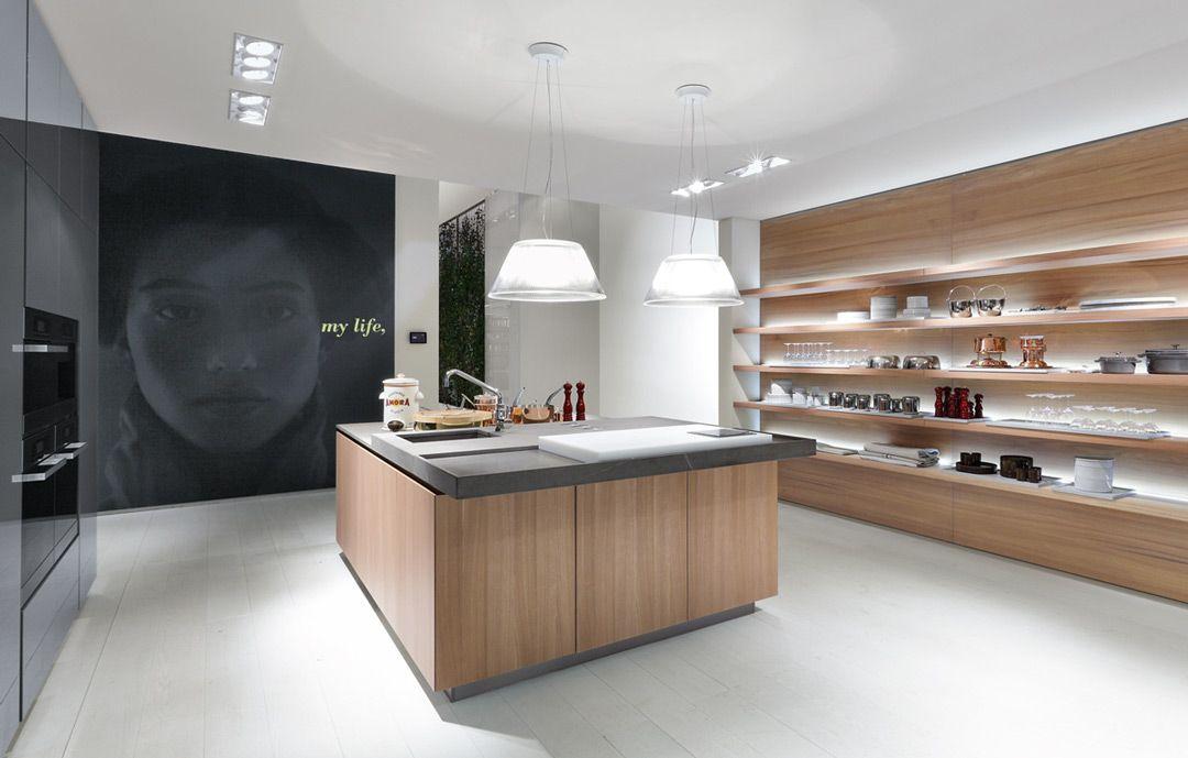 Idee di cucine moderne con elementi in legno keuken