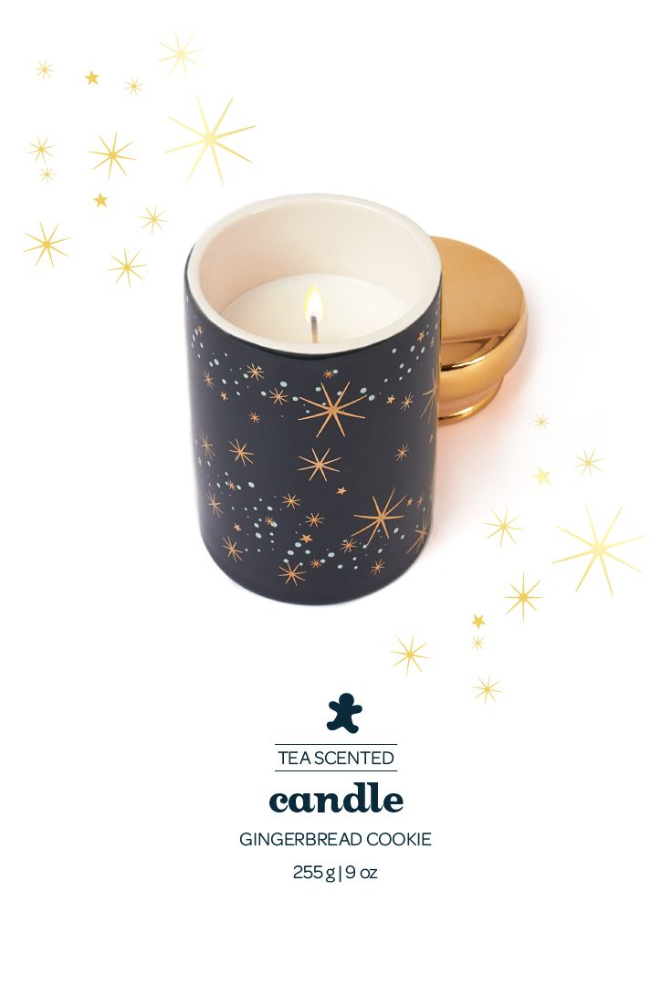 This Festive Candle Smells Just Like Our Gingerbread Cookie Tea