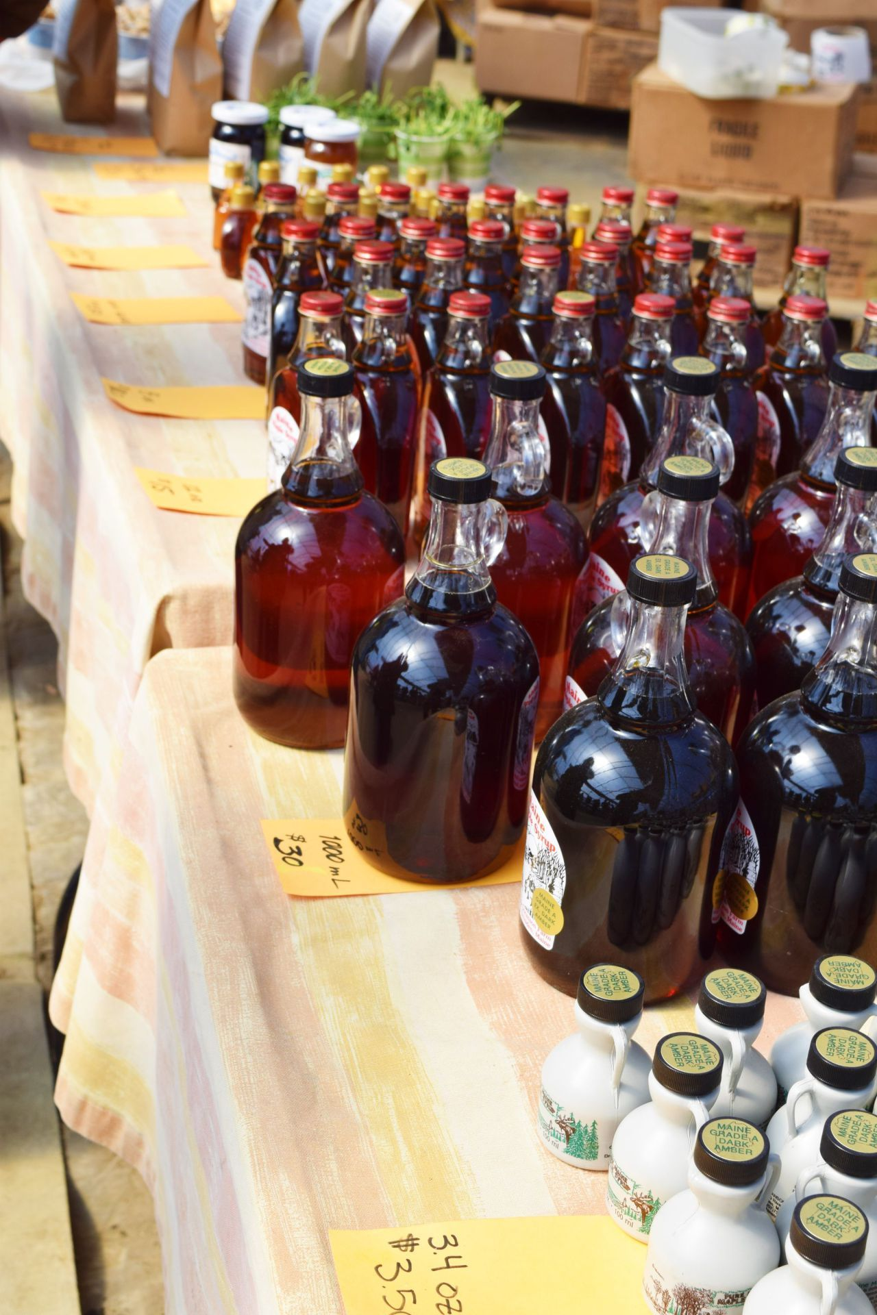 Learn about making maple syrup with awed travelers maple
