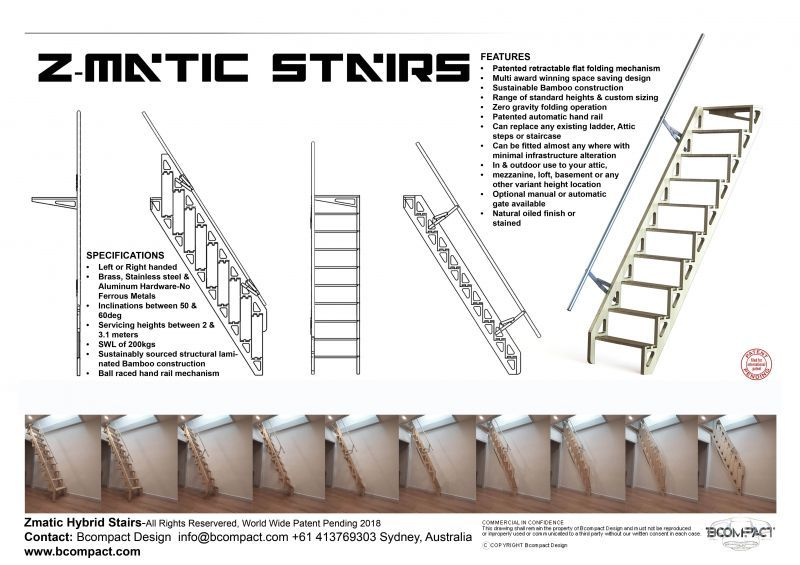 Best Z Matic Hybrid Stairs And Ladders Ladder Stairs Tiny House Loft 400 x 300