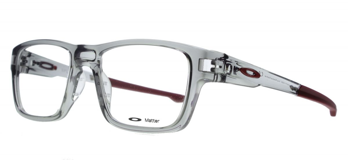 Oakley Splinter Ox8077 03 Grey Shadow Cardinal Designer Glasses Eyewearbrands Prescription Eyewear Designer Glasses Eyewear