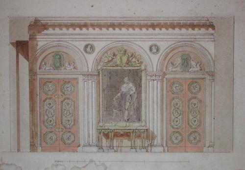 Decoration Executee Pour Le Garde Meuble De La Couronne