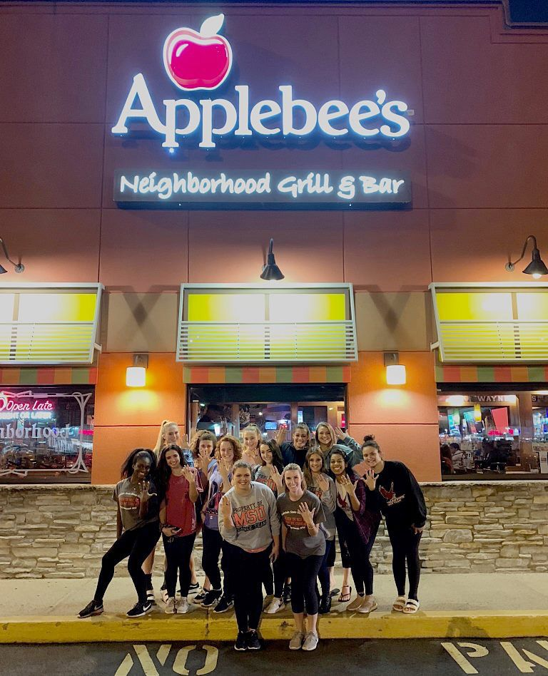 Applebee's is a proud sponsor of @MontclairStateDanceTeam