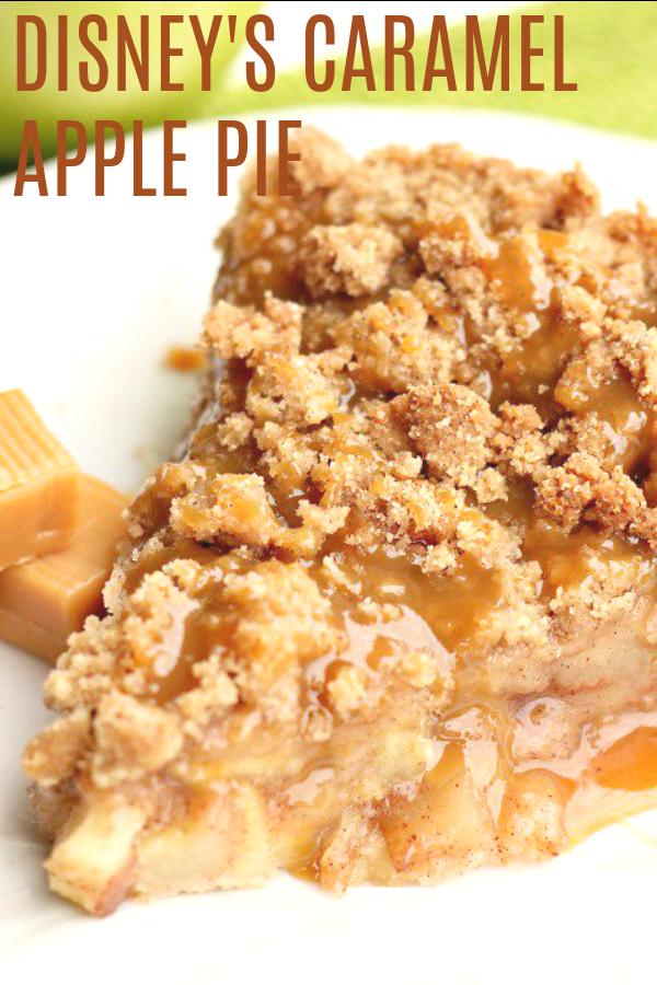 Disney's Apple Caramel Pie
