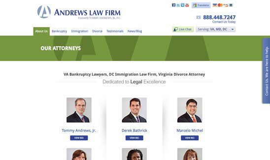 Attorney Web Design By Paperstreet Www Paperstreet Com Divorce Attorney Law Firm Attorneys