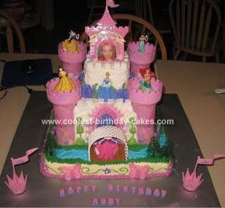 Coolest Princess Castle Birthday Cake Castle birthday cakes