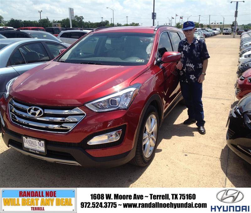 HappyAnniversary to Calvin Baw on your 2014 #Hyundai #Santa Fe Sport