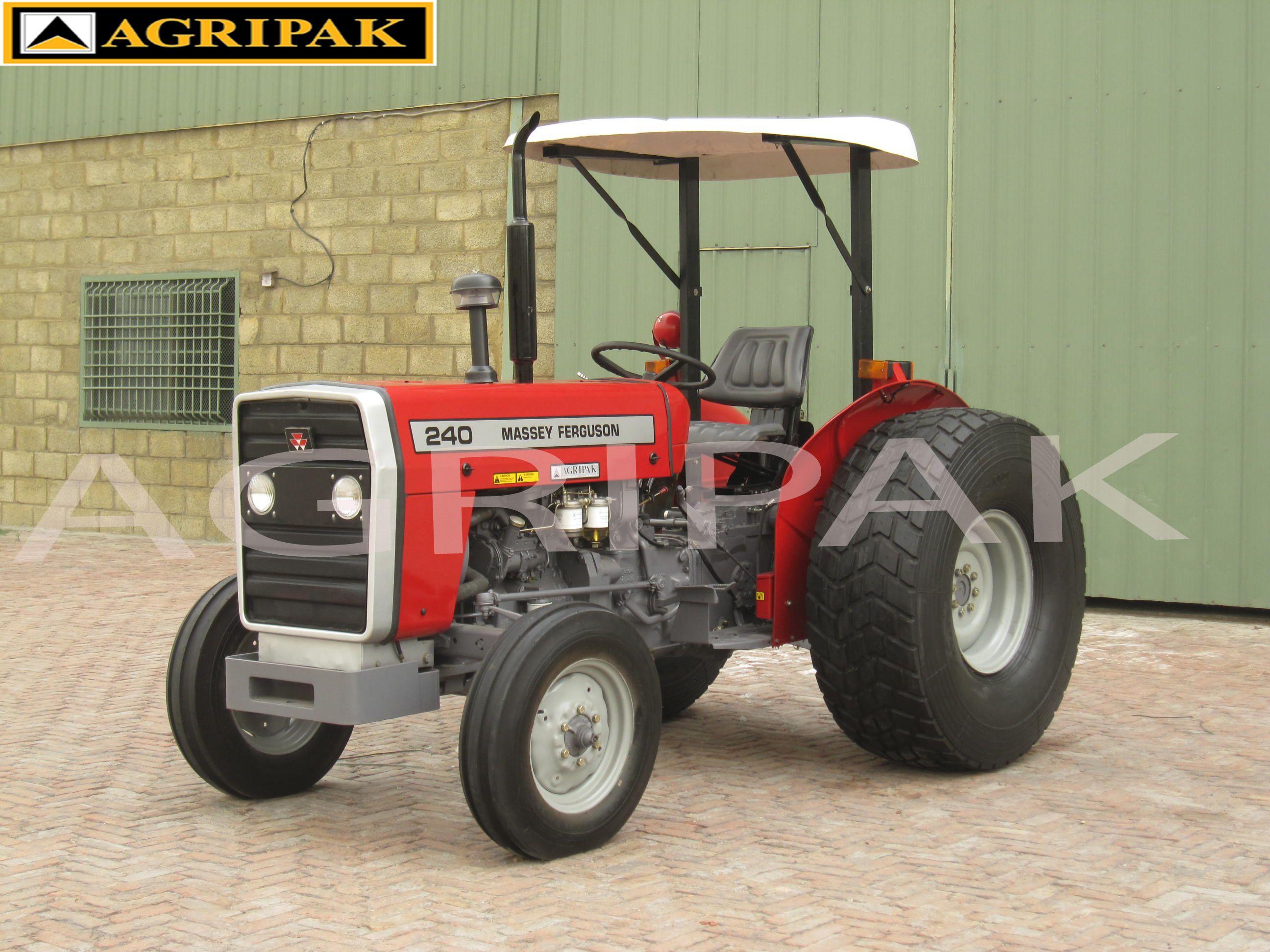 MF 240 (50 HP) available at Agripak. Hydraulic systems