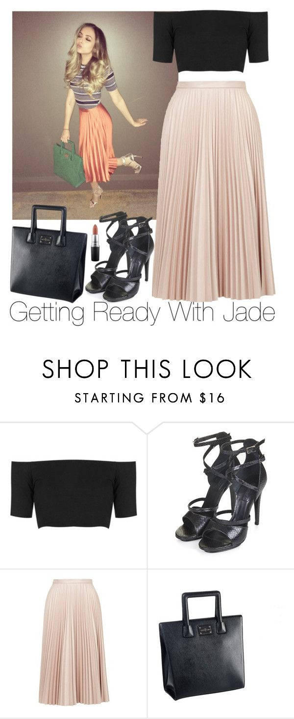 """Getting Ready With Jade"" by zarryalmighty ❤ liked on Polyvore featuring Topshop, MAC Cosmetics, women's clothing, women's fashion, women, female, woman, misses, juniors and littlemix"