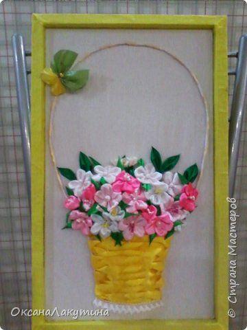 Корзинка с цветами. фото 1 | Подарки своими руками, Цветы ...