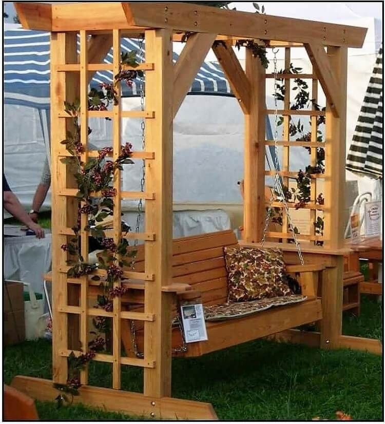Amazing creations with reused wooden pallets diy gazebo