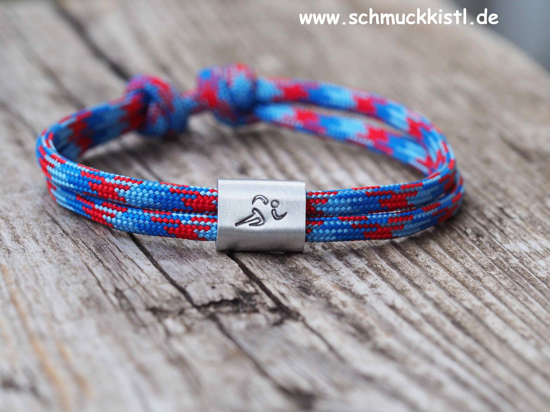 Paracord Surfer Armband-verstellbar-Maritimes Armband-Dutch Marina-Handmade