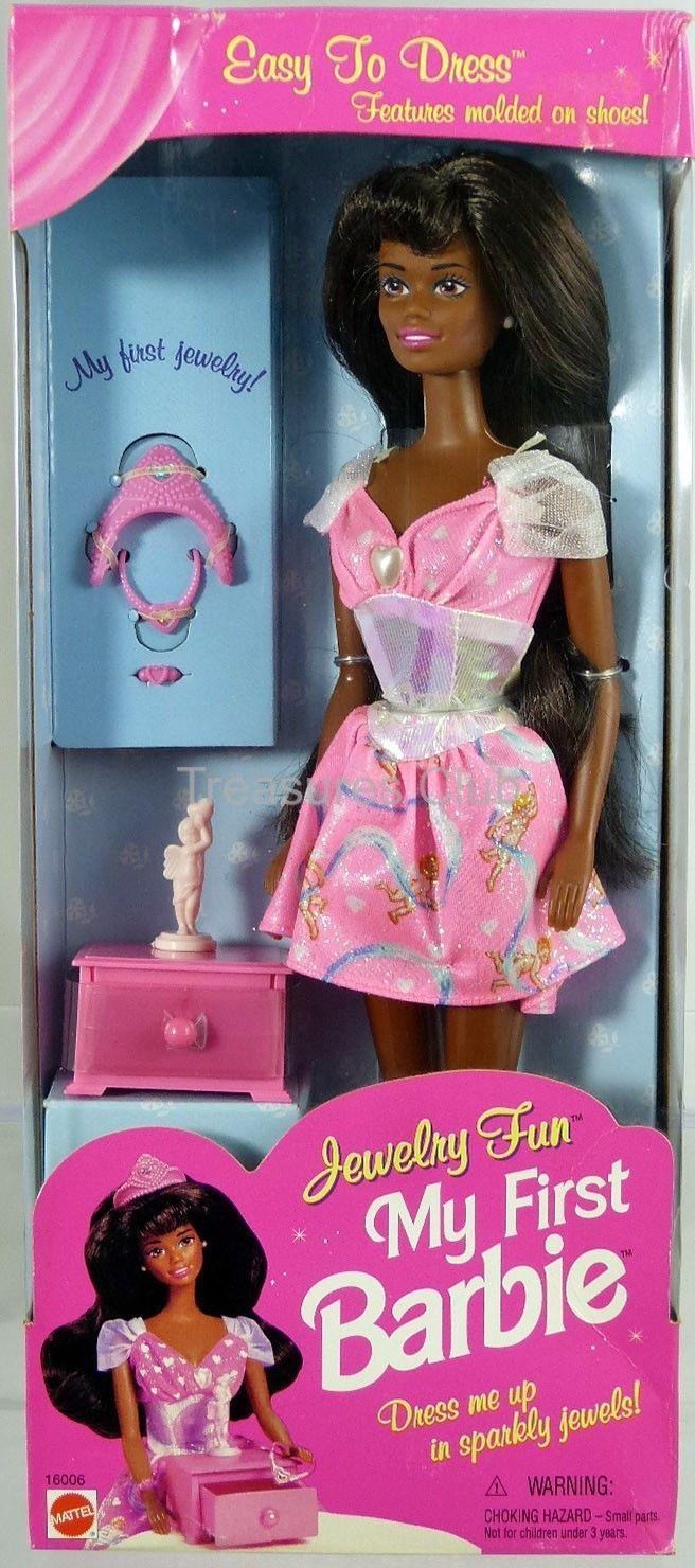 My First Jewelry Fun African American Doll 1996 Mattel