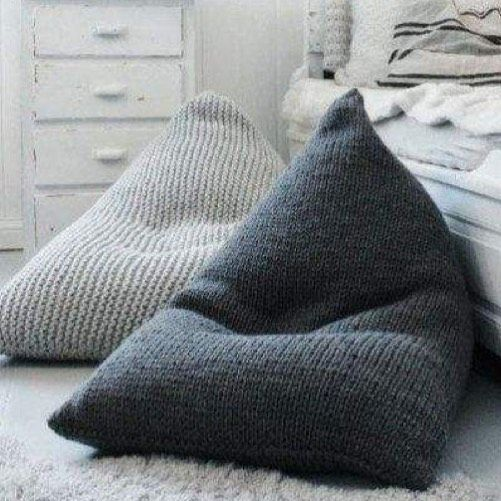 un grand pouf pour mon fils concours phil big onvousmetaud fi phildar crafty knit. Black Bedroom Furniture Sets. Home Design Ideas