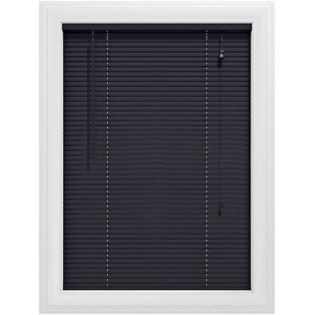 Bali Essentials 1 Inch Premium Vinyl Blind Corded Available In Multiple Colors And Sizes Black With Images Vinyl Blinds Horizontal Blinds Vinyl Mini Blinds