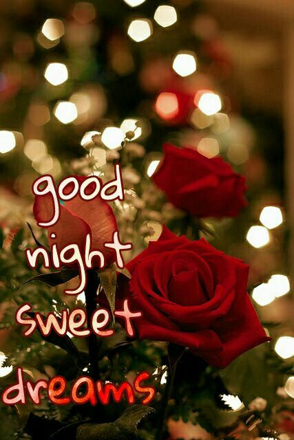 good night sister and yours sweet dreams good night