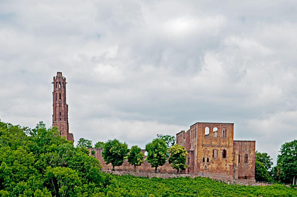 Limburg, an abbey ruin Ruins, Tower, Travel