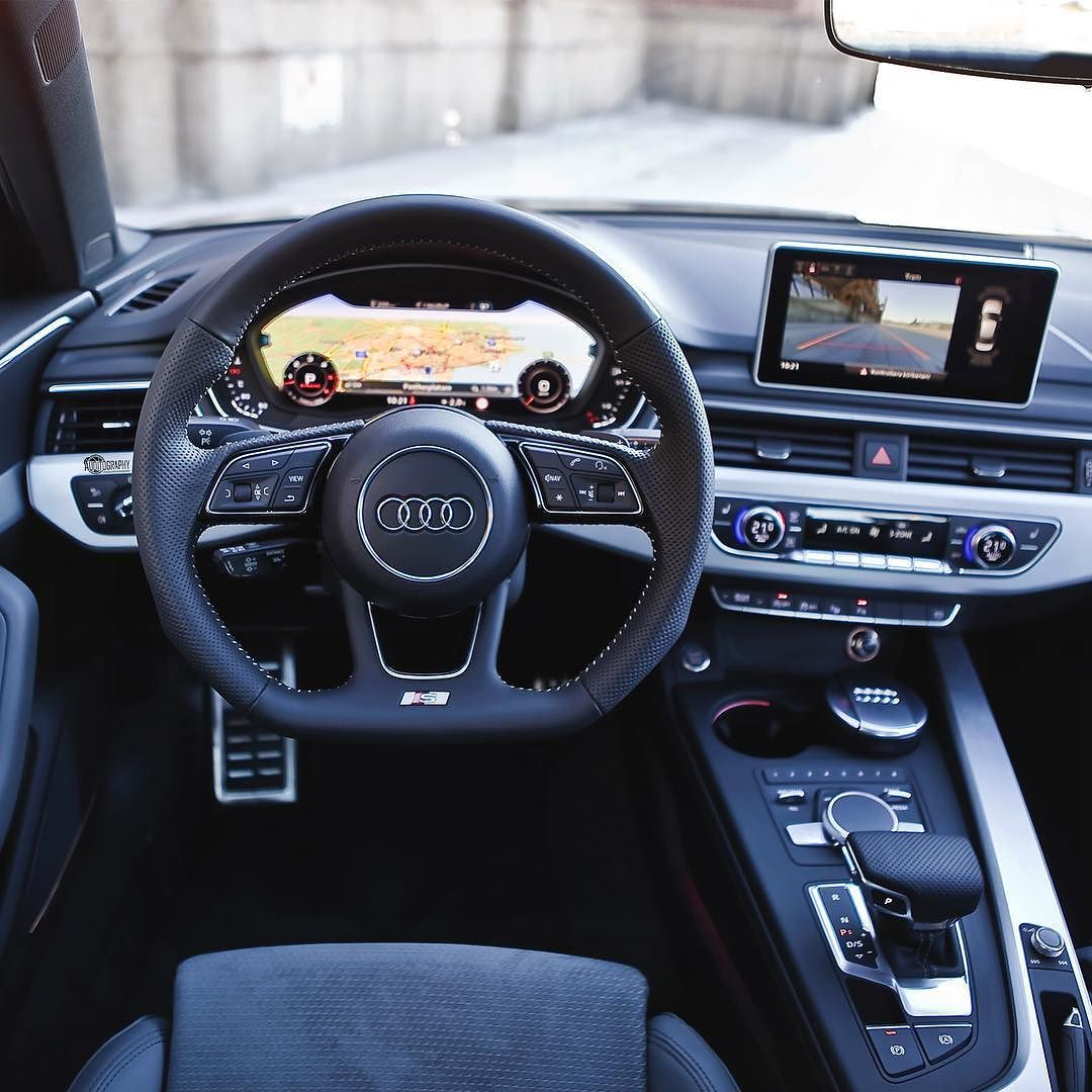 the new a4 interior really sets another level in its class heads up display virtual cockpit. Black Bedroom Furniture Sets. Home Design Ideas