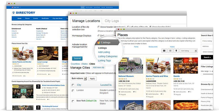Directory wordpress multipurpose listing theme pinterest directory responsive wordpress theme accmission Images