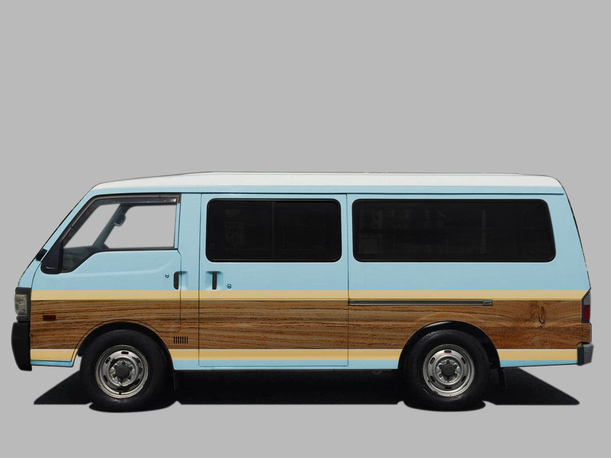 mazda bongo brawny van オールペン案   車