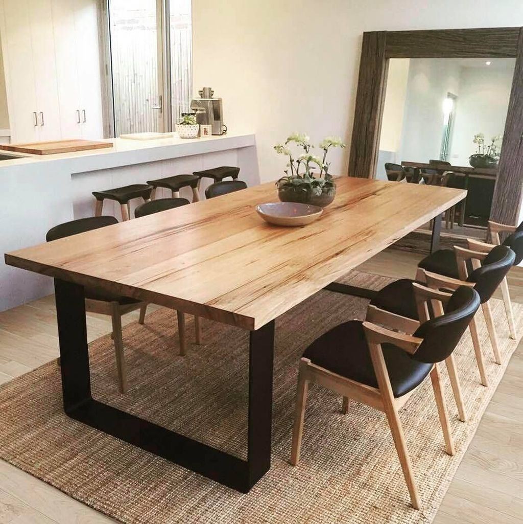 Cool 40 Awesome Dining Room Table Decor Ideas More At Https Homishome Com 2019 04 14 40 Awesom Dining Room Table Decor Dining Room Small Modern Dining Table