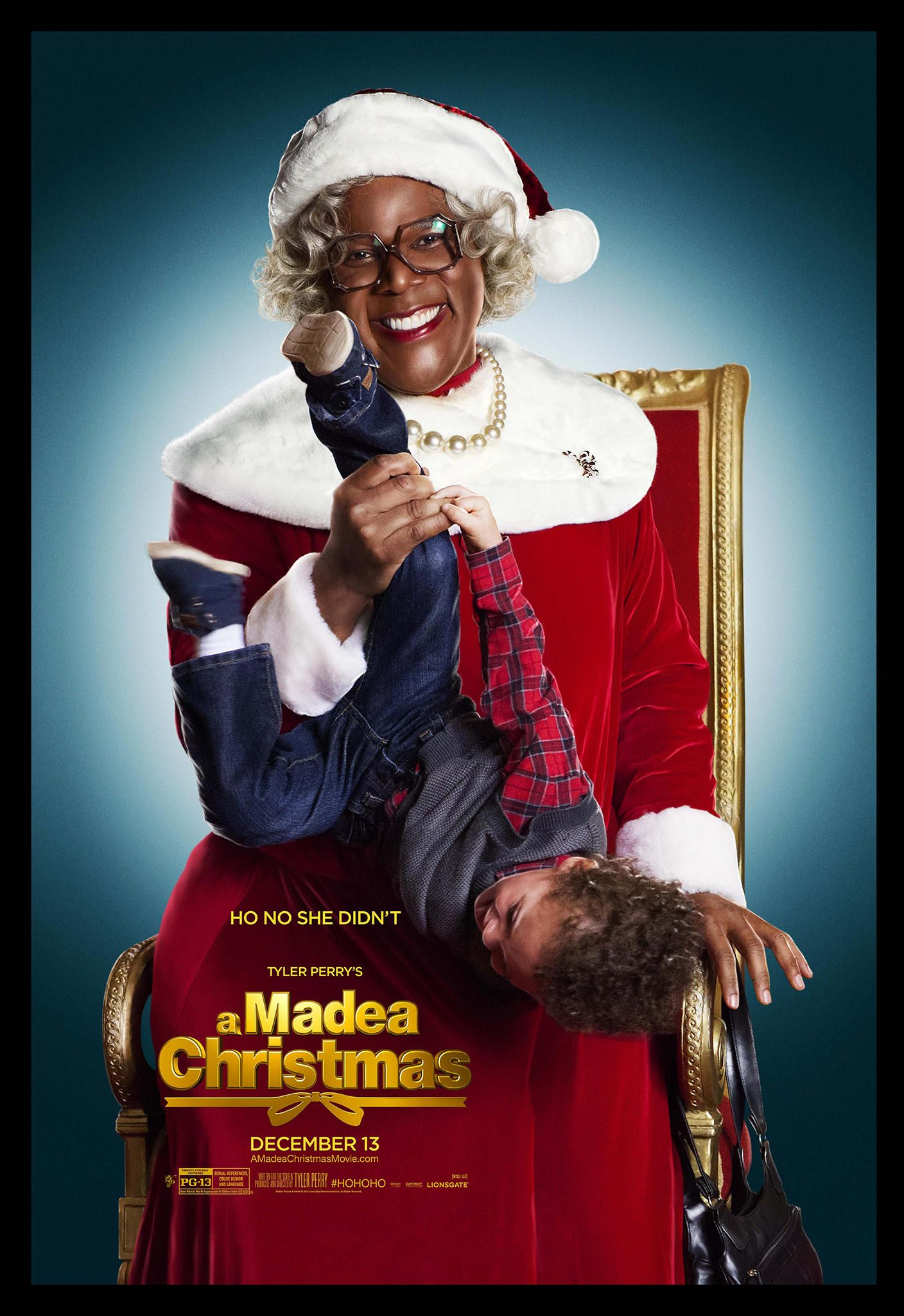 'Tyler Perry's A Madea Christmas' Character Poster Madea