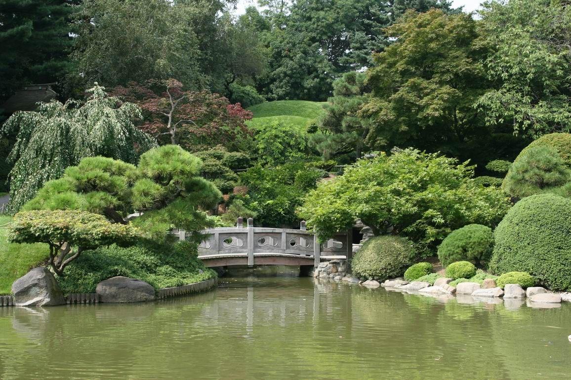 Japanese garden brooklyn botanic garden zen japanese for Japanese botanical garden
