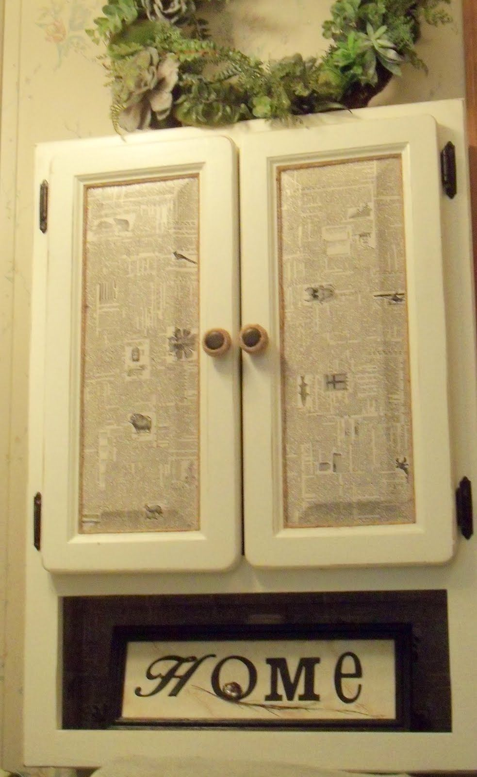 I Like The Decoupaged Cabinet Doors From Make The Best Of Things Crafty Decoupage How To Make