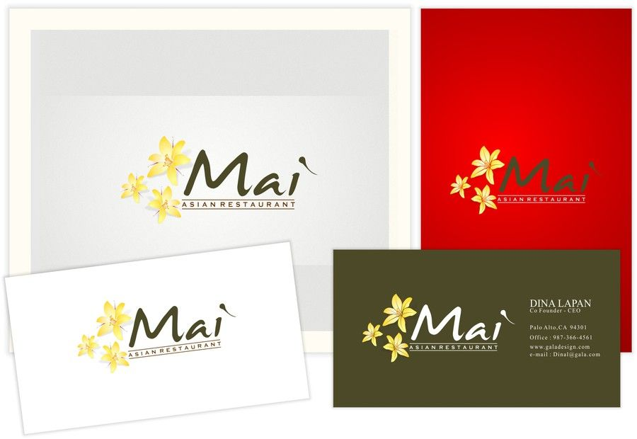 Create the next logo for Mai Restaurant by aring™
