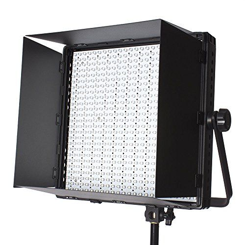 StudioPRO (Set of 2) S-600BN Dimmable 600 Bright LED Photography Continuous Bi Color Light Panel & Light Stand Kit with Carrying Case & Barndoor – Photo, Video & Film Production Studio Essentials  http://www.discountbazaaronline.com/2016/02/15/studiopro-set-of-2-s-600bn-dimmable-600-bright-led-photography-continuous-bi-color-light-panel-light-stand-kit-with-carrying-case-barndoor-photo-video-film-production-studio-ess/