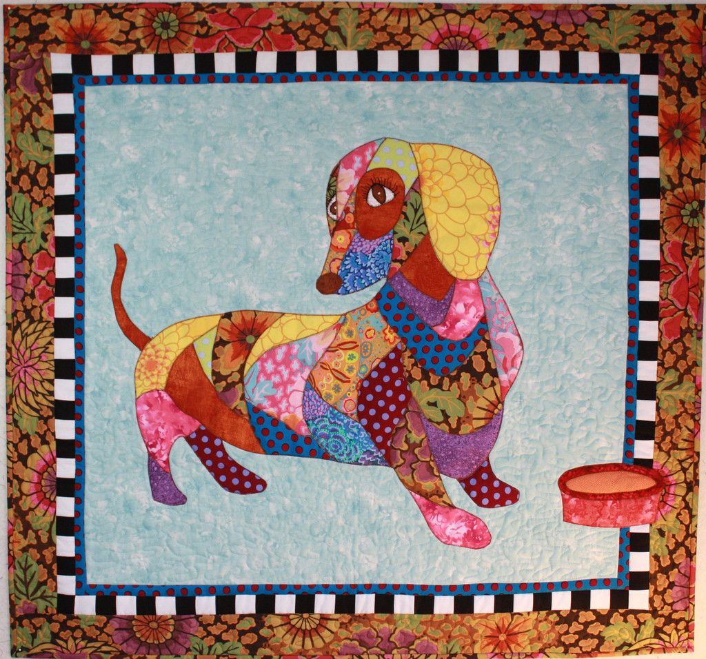 Dagwood Quilts Dogs On Quilts Applique Quilt