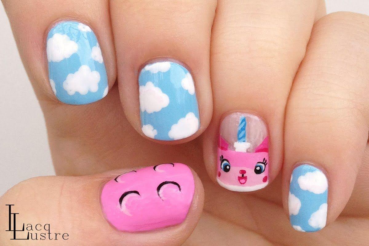 LacqLustre: The Lego Movie - Princess Unikitty #nail #nails #nailart ...
