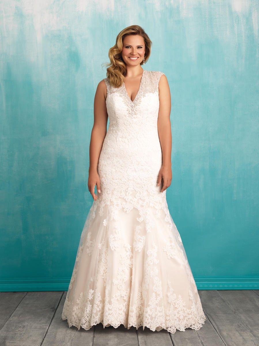 Allure Bridal W376 | Bridal Gowns | Pinterest | Allure bridal ...