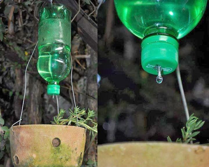 Conseils pour conomiser cr ations de recyclage des - Arrosage automatique jardin potager ...