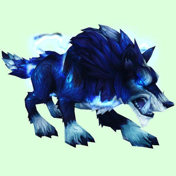 Stormy Draenor Wolf