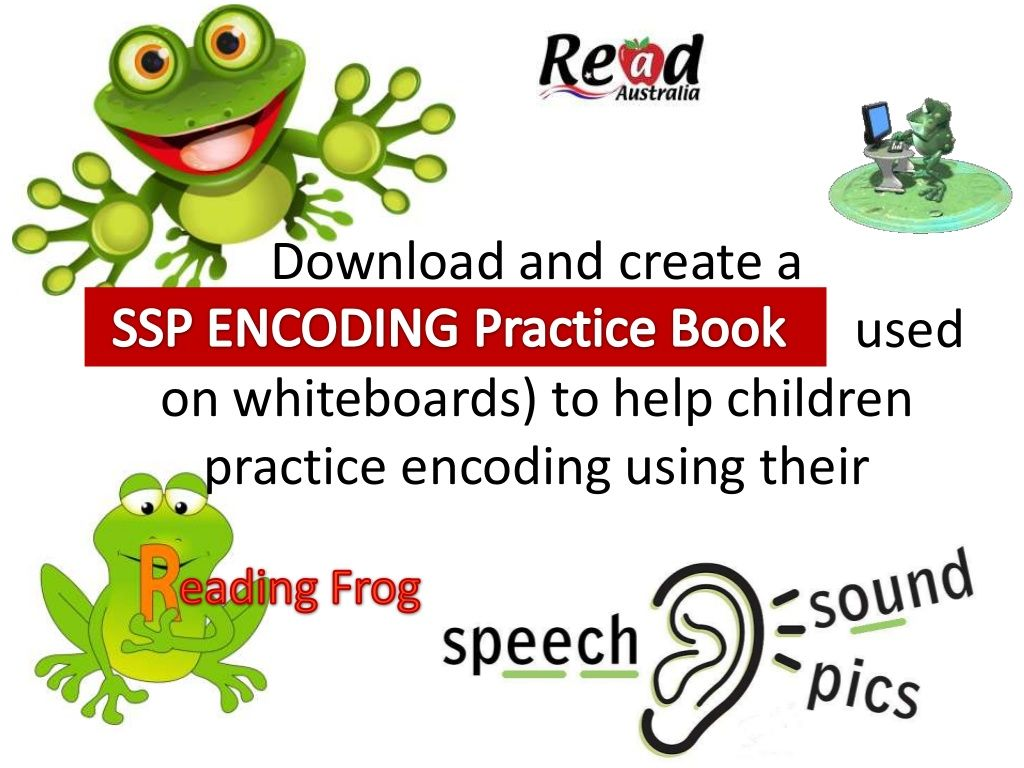 SSP encoding (spelling) practice for whiteboards by Read