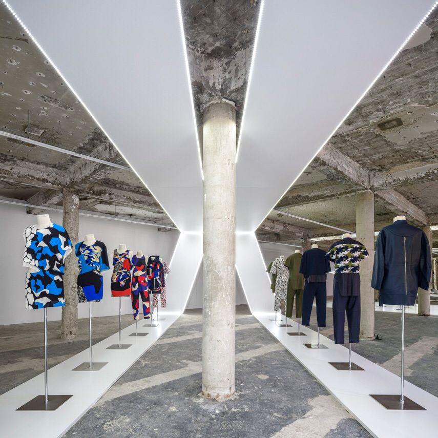 Inspiring Exhibition Designed By Fashion Event Designer Alexandre De Betak Of Bureau Betak A Kaleidoscopic Museum Fashion Fashion Showroom Exhibition Design
