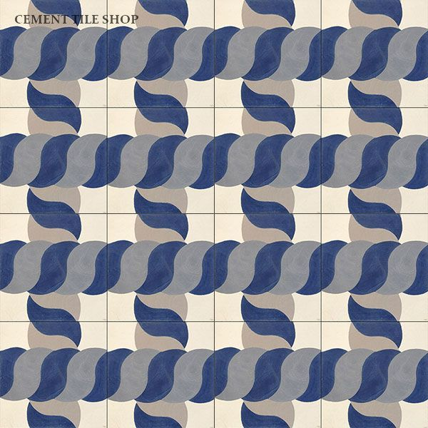Cement Tile Shop - Handmade Cement Tile | Sea Knot