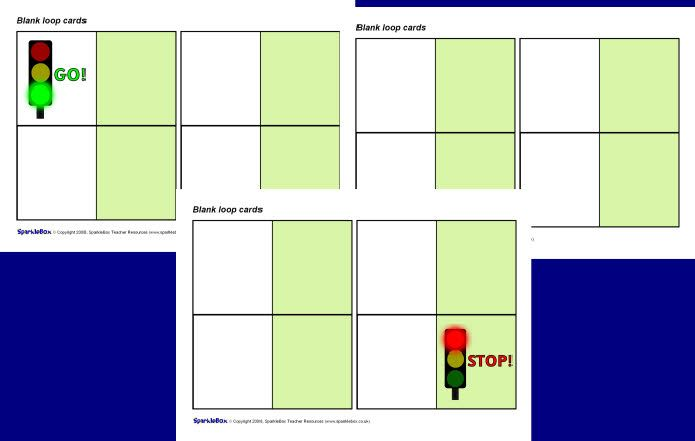 Editable Blank Loop Follow On Cards Free Teaching Resources