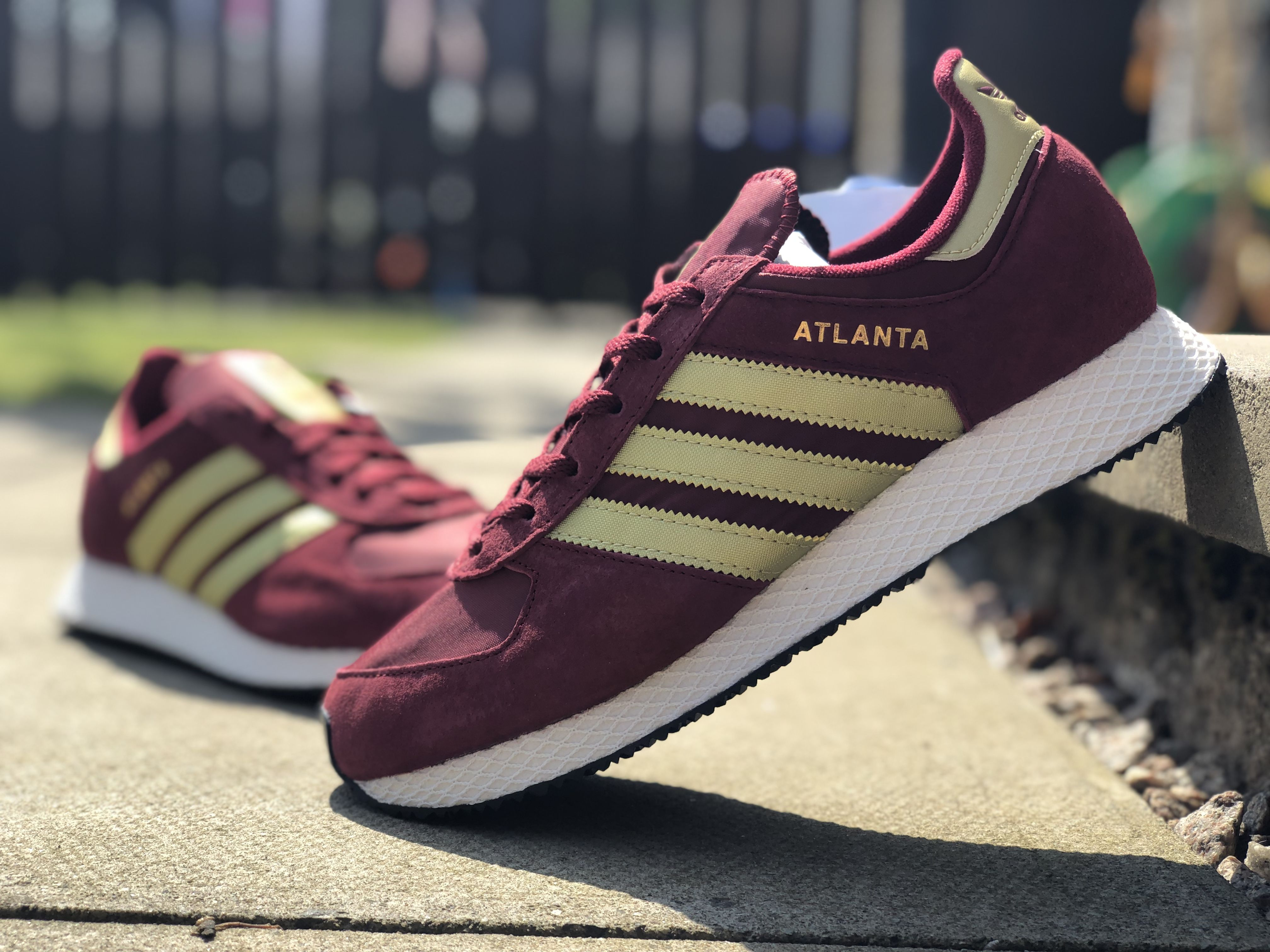 Adidas Atlanta | Adidas, Mens fashion rugged, Adidas trainers