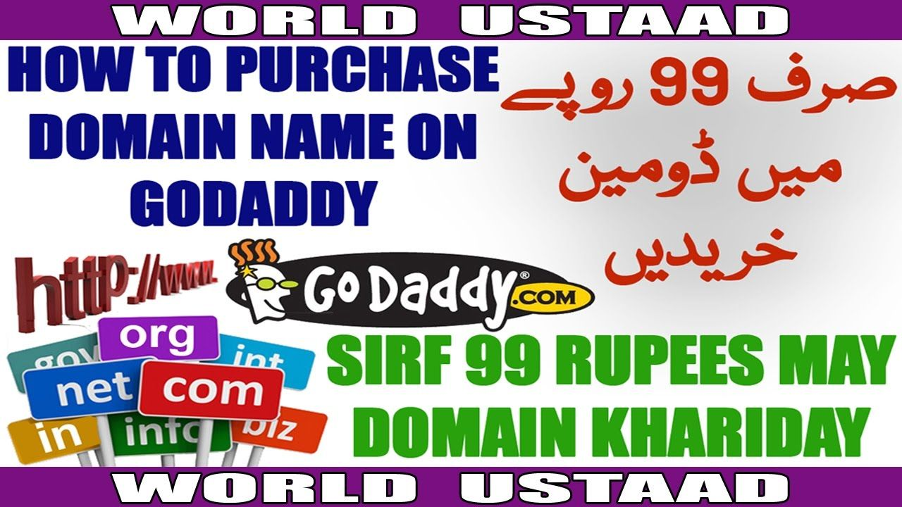 cool How to Purchase Domain Name on Godaddy in Hindi Urdu