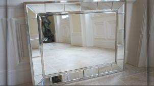 Collections d coration meubles miroirs luminaires for Grand miroir mural rectangulaire