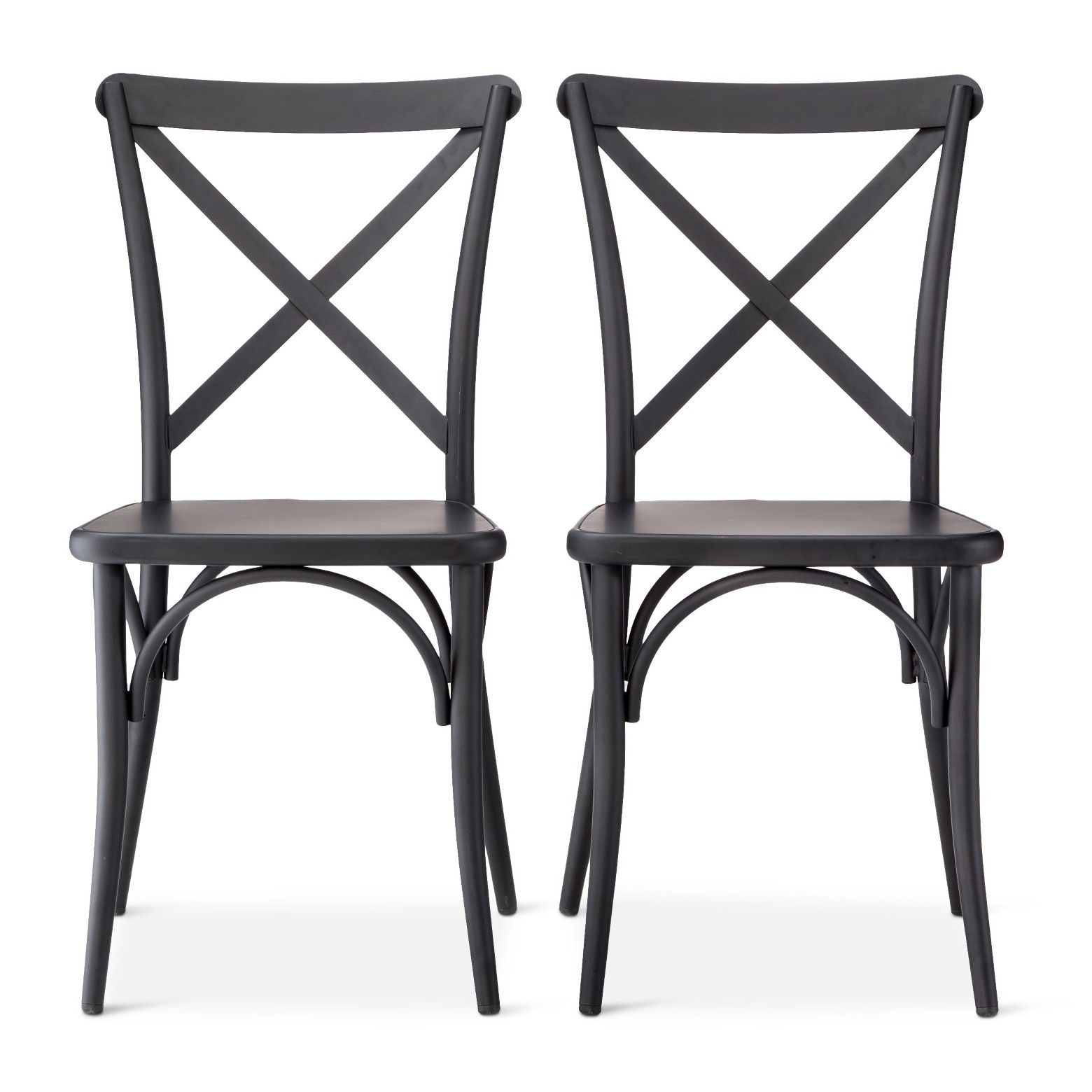 Complete your bistro with these French Metal Bistro Chairs