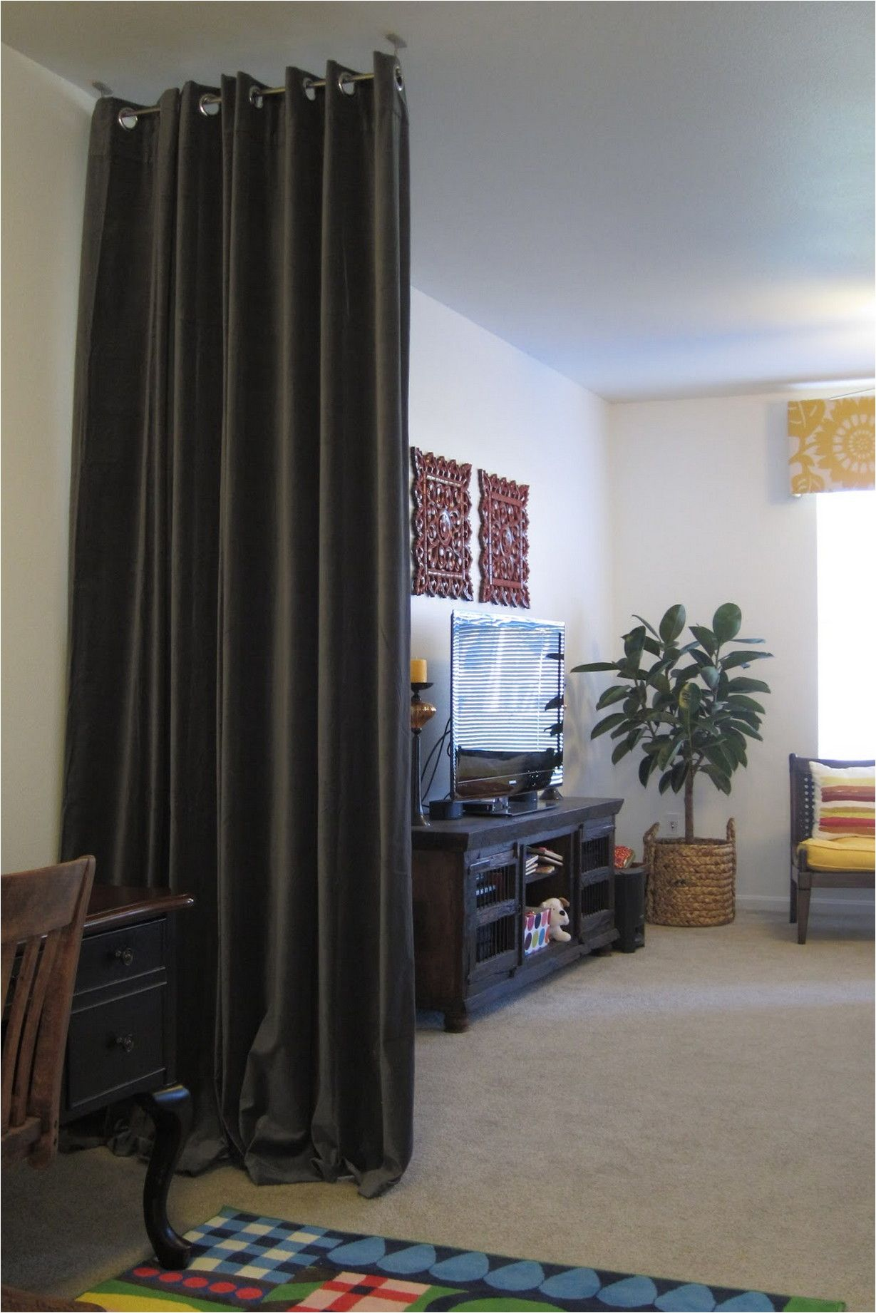 Beautiful And Unique Room Divider Curtains Fabric room