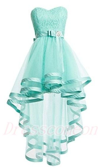 207bbe7ba8 Mint Tulle Homeocming Dresses For Teens