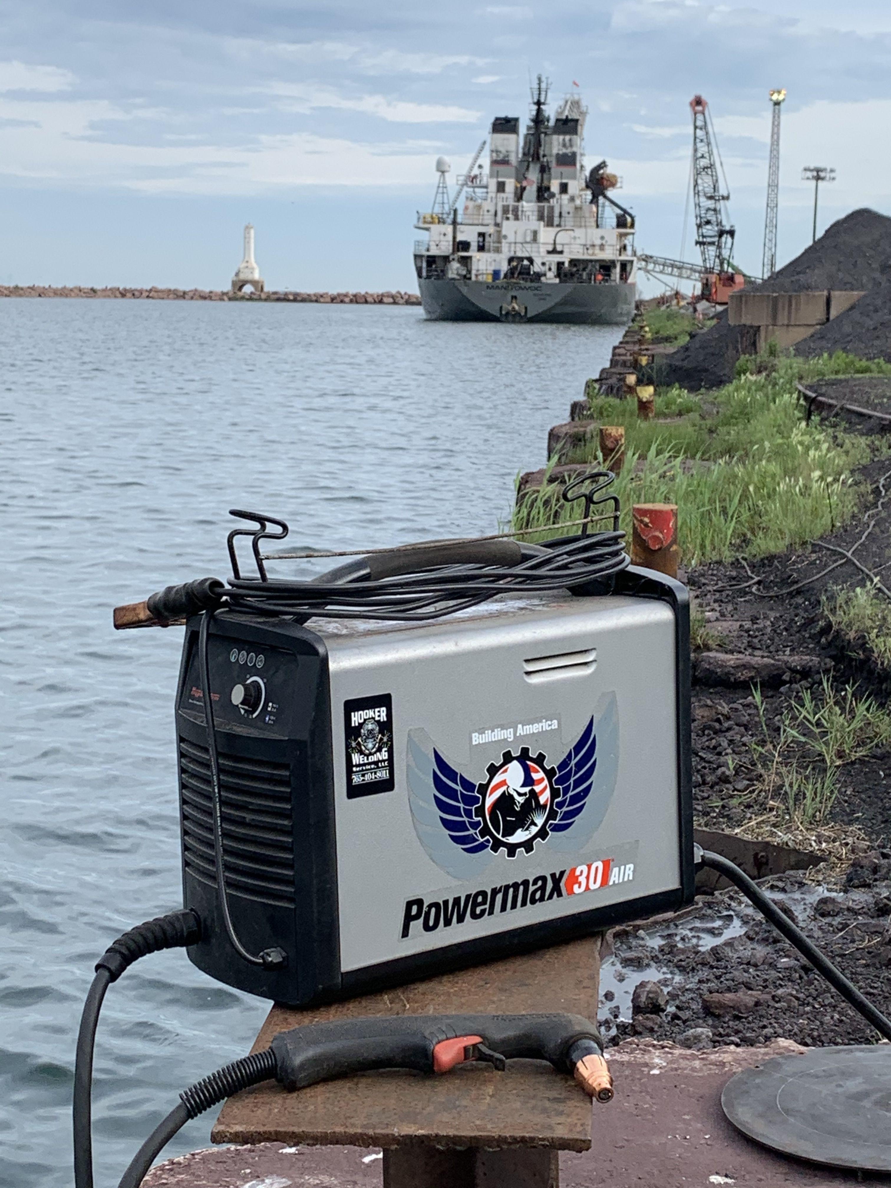 Powermax30 AIR plasma system in 2020 Underwater welding