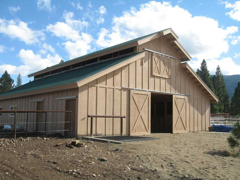 Horse Barn Building Photo Gallery - Agricultural Steel Buildings ...