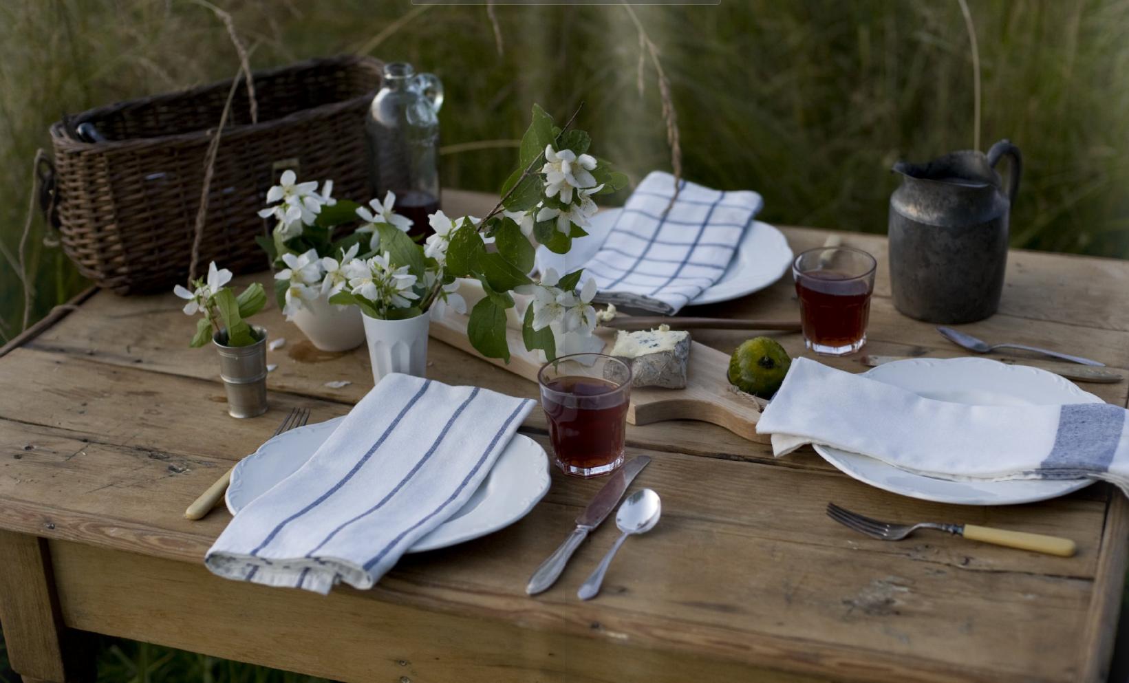 simple table setting & simple table setting | summer | Pinterest | Table settings ...